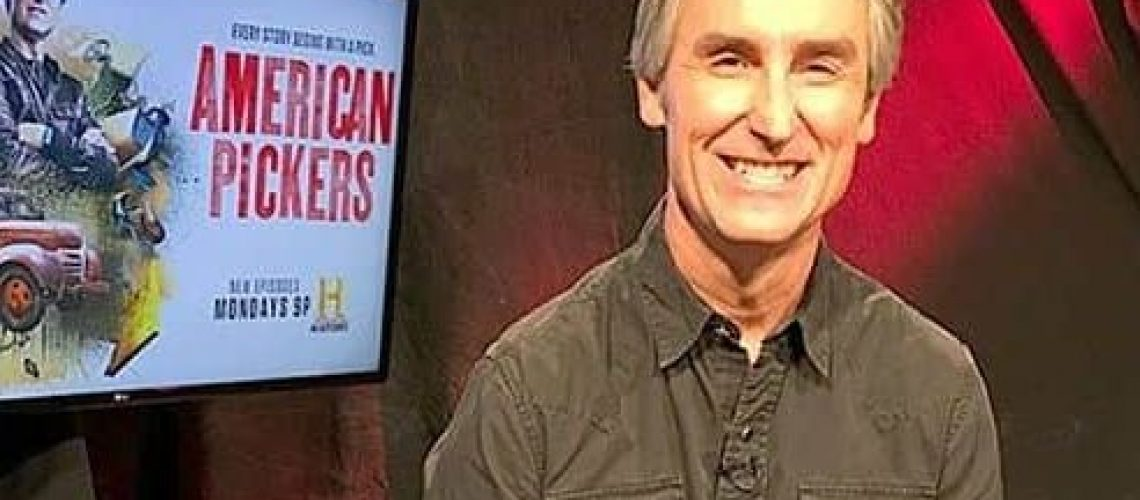 American Pickers host Mike Wolfe in our StagePost studios.